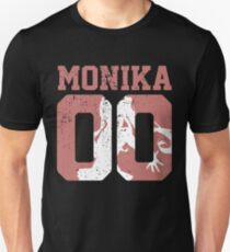 Monika 00 Jersey DDLC Inspired Unisex T-Shirt