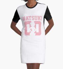 Natsuki 00 Jersey DDLC Inspired Graphic T-Shirt Dress