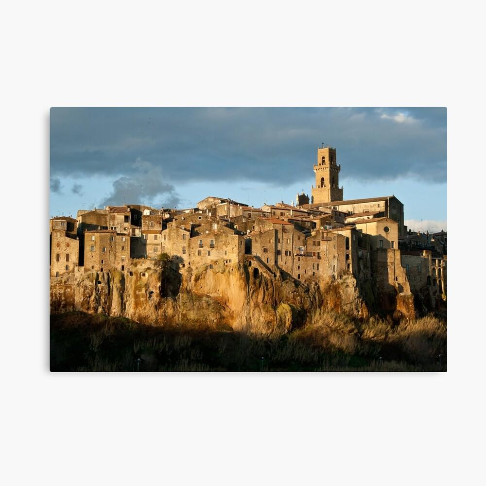 Pitigliano Tuscany Small Town Canvas Print