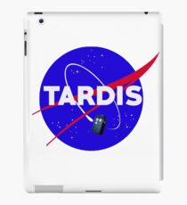 Tardis Nasa Space Parody iPad Case/Skin