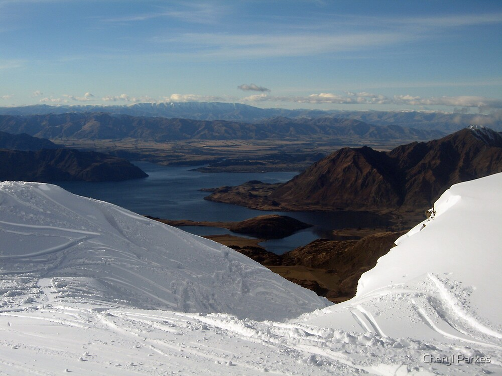 View from Trebble Cone by Cheryl Parkes