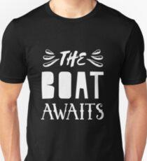 The boat awaits T-Shirt