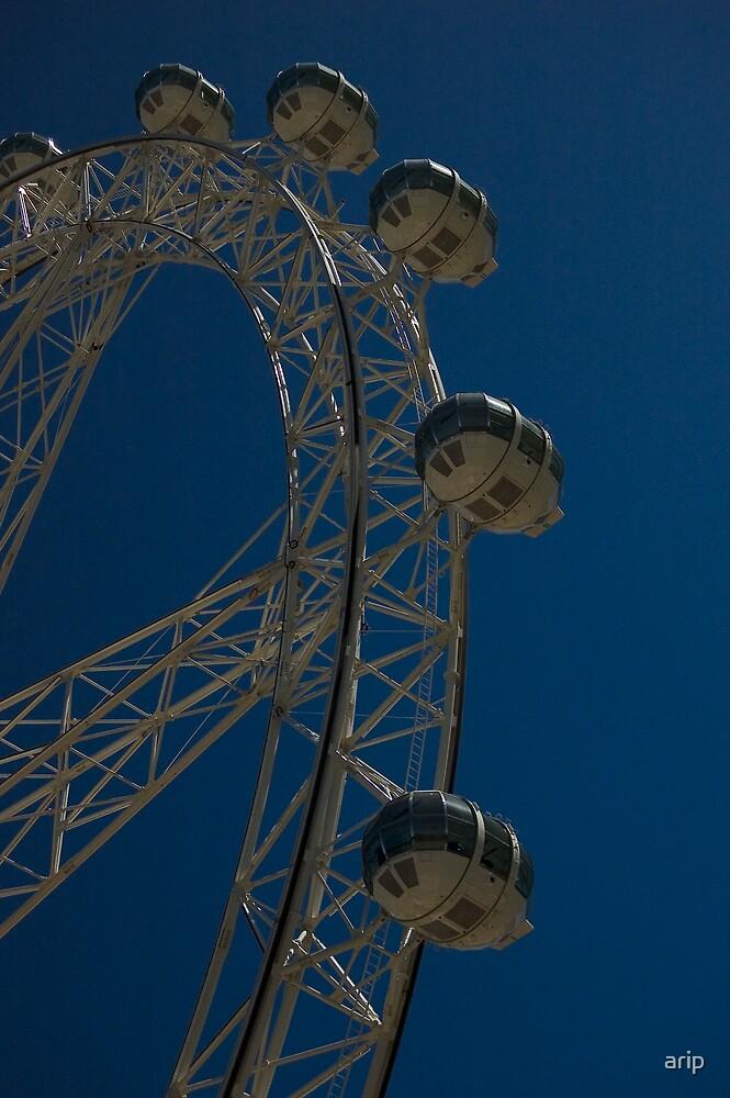 Blue Wheel by arip