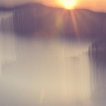 Sunset Abstract by oliviastclaire