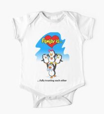 Family of penguins. Family is ... Kids Clothes