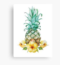 Pineapple artwork  Canvas Print