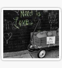 Need is Love Sticker