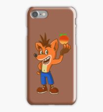 crash bandicoot! iPhone Case/Skin