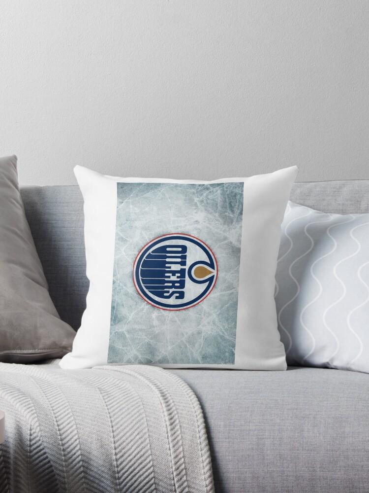 "Edmonton Oilers"" Throw Pillows by teamcanuck"