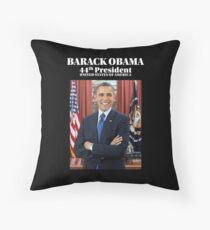 President Barack Obama Official Portrait Floor Pillow