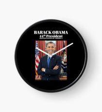 President Barack Obama Official Portrait Clock