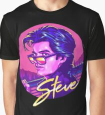 STEVE HARRINGTON- stranger things  Graphic T-Shirt