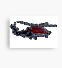 Crochet Helicopter Canvas Print