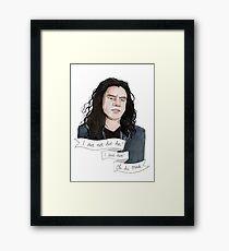 WISEAU, TOMMY Framed Print