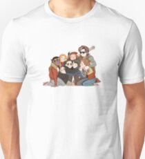 STRANGER THINGS GROUP PIC Unisex T-Shirt