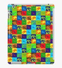 Dino Rainbow iPad Case/Skin