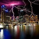Stormy Circular Quay by Mark Snelson