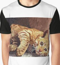 Morning cat Graphic T-Shirt