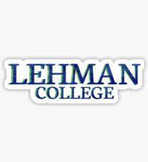 Lehman College Sticker