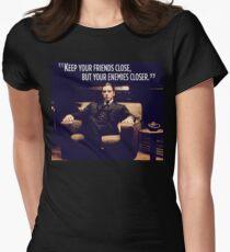 Camiseta entallada para mujer El padrino Al Pacino
