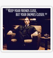 The Godfather Al Pacino Sticker