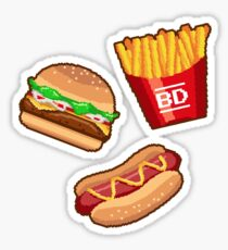 BURGER_DREAMS Sticker