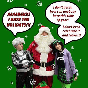 Danny Phantom Christmas and holiday card by phantompearl