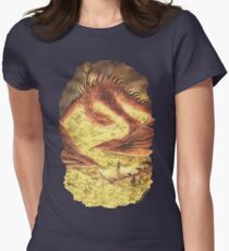 SLEEPING SMAUG Women's Fitted T-Shirt