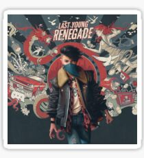 All Time Low - Last Young Renegade Sticker