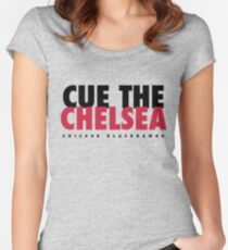 Cue The Chelsea - Blackhawks Women's Fitted Scoop T-Shirt