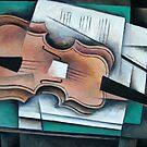 Cubist Strativarius by Bill Proctor