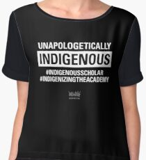Unapologetically Indigenous Chiffon Top