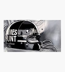 JAMES HUNT Photographic Print