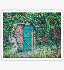 Vineyard Door Sticker