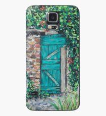 Vineyard Door Case/Skin for Samsung Galaxy