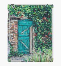 Vineyard Door iPad Case/Skin