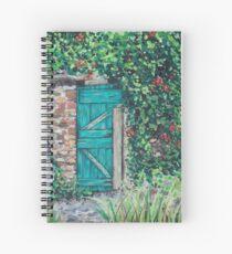 Vineyard Door Spiral Notebook