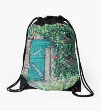 Vineyard Door Drawstring Bag
