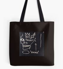 basquiat art Tote Bag