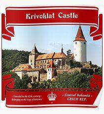 Krivoklat Castle of Czech Republic Poster