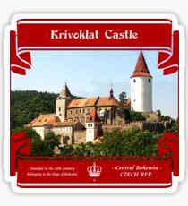 Krivoklat Castle of Czech Republic Sticker