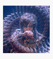 INSTANT CRUSH - JULIAN CASABLANCAS X DAFT PUNK Photographic Print