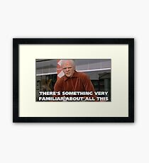 Back to the future Biff Dejavu Framed Print