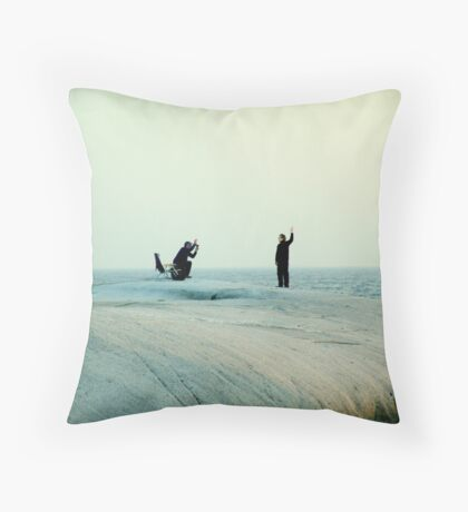 Photoshoot Throw Pillow