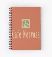 Cafe Nervosa Spiral Notebook