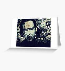 Marilyn Manson Greeting Card