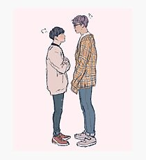 Namgi Height Difference Photographic Print