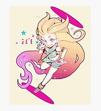 Zoe League of Legends Photographic Print
