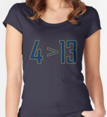 Oladipo > Paul George Women's Fitted Scoop T-Shirt