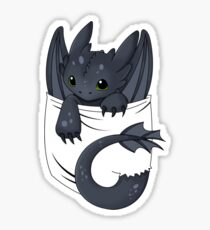 Is that a dragon in your pocket? Sticker